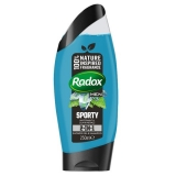Radox for men 2v1 250 ml sprch. gel - šampon