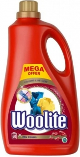 Gel prací Woolite Mix Colors 3,6 l-60 dávek