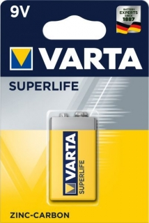 Baterie 9 Volt Varta - Superlife blistr